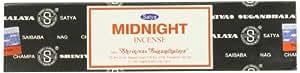 Nag Champa Midnight - 40 Gram Box - Satya Sai Baba Incense