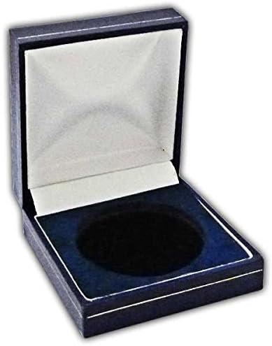 Caja expositora para Medalla de Monedas, 44 mm, Color Azul Marino: Amazon.es: Hogar