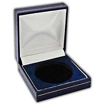 Coin Medal Presentation Box Display Case Single Coin 44mm Navy Blue  sc 1 st  Amazon UK & Coin Medal Presentation Box Display Case Single Coin 44mm Navy ... Aboutintivar.Com