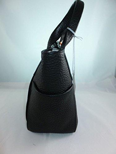 VOI kurzgrifftasche hirsch-prägung 21871 Vacchetta Donna - Nero, One Size