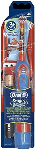 BRAUN ORAL B ADVANCE POWER KIDS BATTERY OPERATED TOOTHBRUSH CARS by Braun