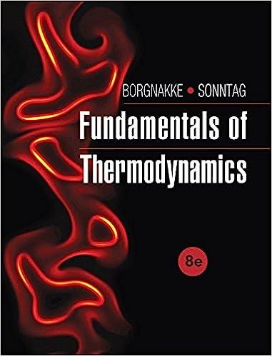 Fundamentals of Thermodynamics 8th Edition