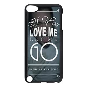 the Case Shop- Customizable Panic! At The Disco Band Limited Edition IPod Touch 5th Hard Plastic Protective Case Cover Skin , p5xq-528