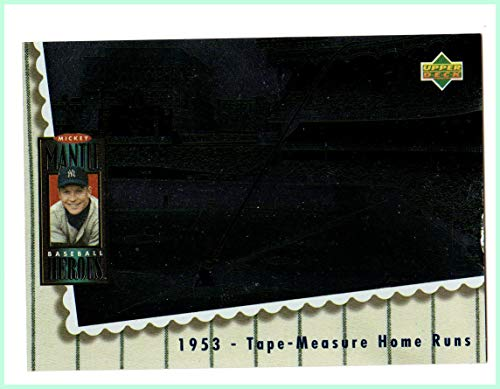 1994 Upper Deck Mantle Heroes #65 Mickey Mantle 1953 Tape-Measure Homers NEW YORK YANKEES