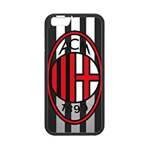 iPhone 6 4.7 Inch Cell Phone Case Black AC Milan Phone Case Cover Protective Back CZOIEQWMXN9309