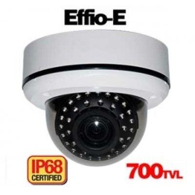 Sony Effio-e 700tvl Ip68 Ir Dome w/ Atr/dnr/ Vandal Proof/ N