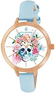 Olivia Westwood Round analog Casual Watch For Women - BOW10022-826