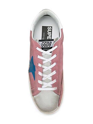 Golden Goose Femme G32WS590E74 Rose Cuir Baskets