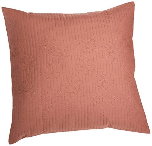 Calvin Klein Home Melrose Copper Petals Pillow, Spice Calvin Klein Home Petals