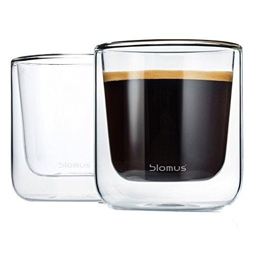 Blomus 63653 Thermo Tea Coffee Glasses Set Of 2