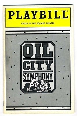 Playbill OIL CITY SYMPHONY 1988 Debra Monk Mike Craver Mark Hardwick from Generic