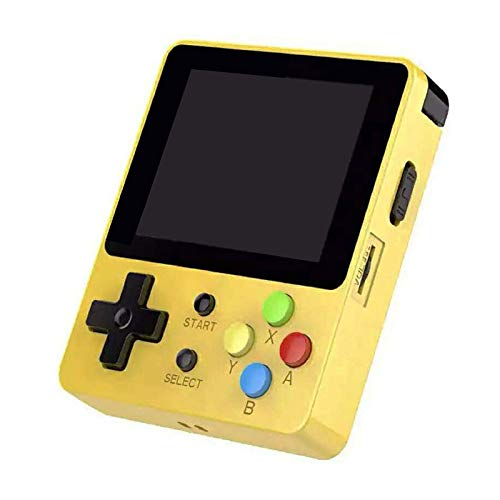 DSstyles LDK 2.6inch Screen Mini Handheld Game Console Nostalgic Children Retro Game Mini Family TV Video Consoles Yellow by DSstyles (Image #7)
