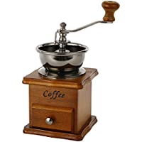 ZULUX Vendimia manual Amoladora de café de cerámica