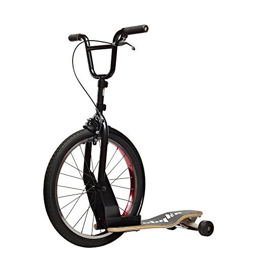 Sbyke A-20 Scooter, Black/Red