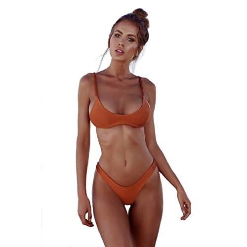 b2a828d84ccb Envio gratis heekpek Tops de Bikini Trajes de Baño Tanga Triángulo Suave  Acolchado Tops y Braguitas