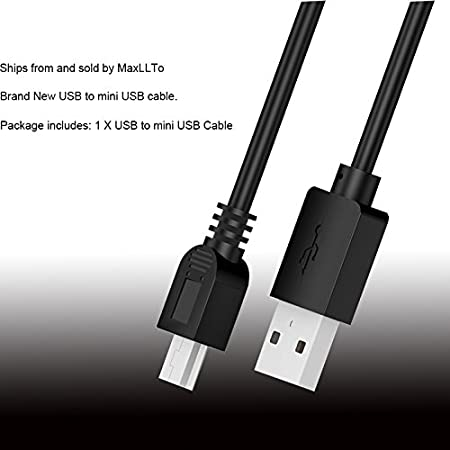 yan USB PC Data SYNC Cable Cord for JVC Everio GZ-HM300//AU//S GZ-HM300 BU//S HM300RU//S