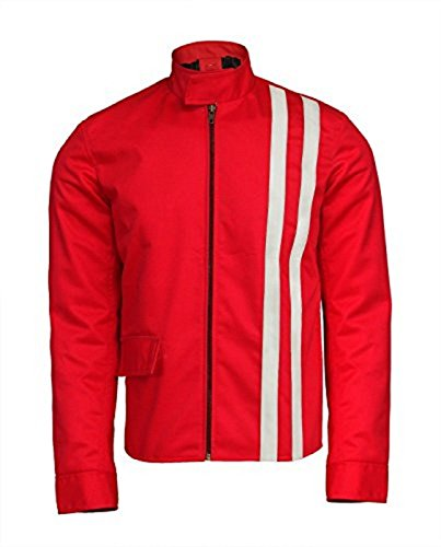 e Genius Elvis Presley Slimfit Speedway Red Hi Quality Cotton Jacket