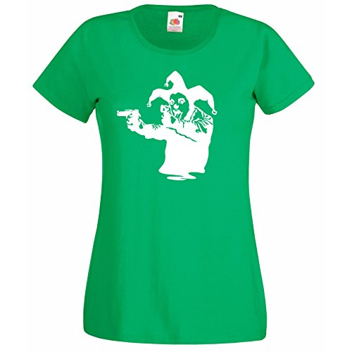 Art De Rue Graffiti shirt Of Femmes Conception Vert Cadeau Décalque Premium Super T Hasard Gratuit Au Joker Bouffon The Avec Banksy Fruit Clown Loom Pistols n4IXdY8x8