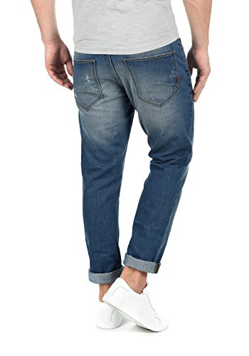 Para Midt Blue Pantalón Slim Hombre Jeans 9610 Vaquero Elástico Moy fit solid FpqRT77