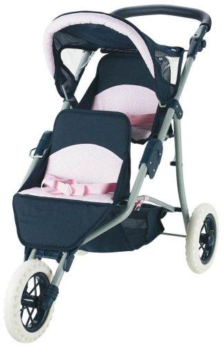 """Corolle Nursery Twin Stroller - 20-30"""" x 33"""" x 16"""""""