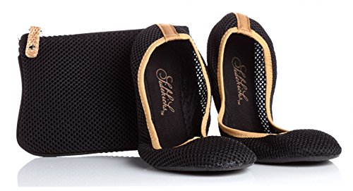 Sidekicks Foldable Ballet Flats with Carrying Case,