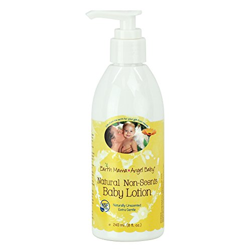 Earth Mama Angel Baby - Natural Non-Scents Baby Lotion - 8 o