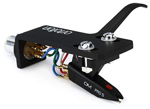 Ortofon Pro S OM Premount Cartridge and Stylus Premounted on SH-4 - Sh4 Headshell