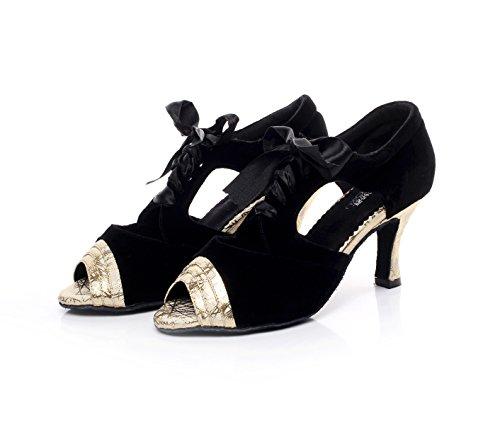 High Heels Sparking Our41 Samba heeled7 Dance Shoes Gold JSHOE Salsa Tango 5 Latin Crystals Women's Chacha Modern Sandals Jazz Satin UK6 5cm EU40 Shoes qwngZaE