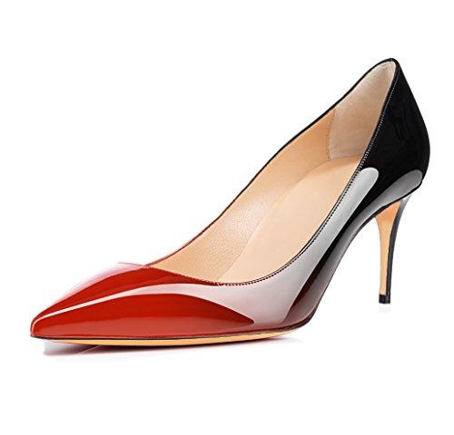 Scarpe Spillo Tacchi nero a Tacco Tacco uBeauty con Alti Rosso Col mm Donna Classiche Col da 65 Tacco Scarpe Scarpe w7xqaS