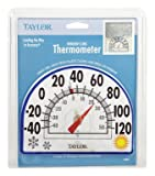 Taylor Window Cling Thermometer 7'' Dia.