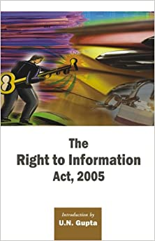 Book Right To Information Act, 2005