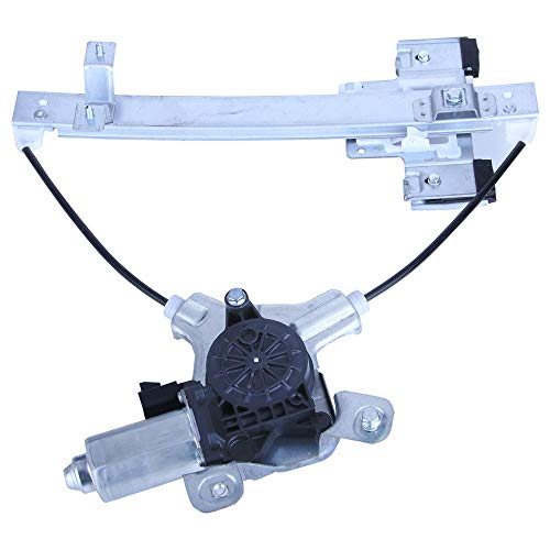 LAMDA 135-00149L Drivers Rear Left Power Window Lift Regulator with Motor Assembly Fit 2007-2014 Cadillac Escalade Chevy Tahoe GMC Yukon