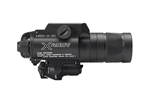 SureFire X400V IRc LED Handgun or Long Gun WeaponLight with IR Output and Infrared Laser Sight by SureFire (Image #4)