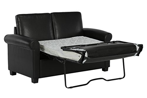 dhp premium sofa bed pull out couch sleeper sofa with pull import it all. Black Bedroom Furniture Sets. Home Design Ideas