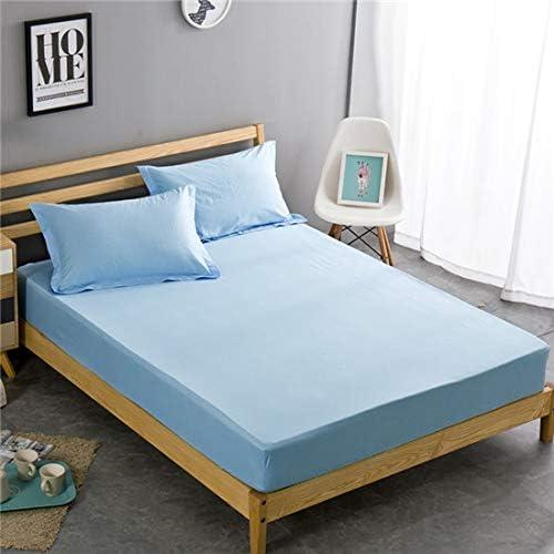 YOUHA Juego de sábanas Ajustadas de Verano de algodón Dormitorio ...