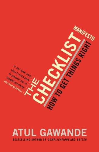 Checklist Manifesto Ebook