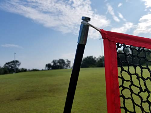 Large 10 X 7 Portable Golf Net - Great for year around golf practice - Can be used to hit balls indoors or outdoors. Large hitting area to catch all golf shots by Sport Nets (Image #5)