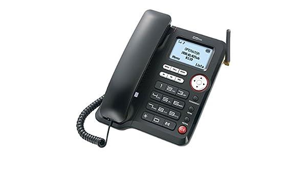 Maxcom Mm29d Teléfono Sobremesa Gsm 3g Inalámbrico: Maxcom ...