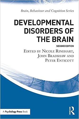Vapaa tilikirjan lataus Developmental Disorders of the Brain (Brain, Behaviour and Cognition) 1138911909 PDF DJVU
