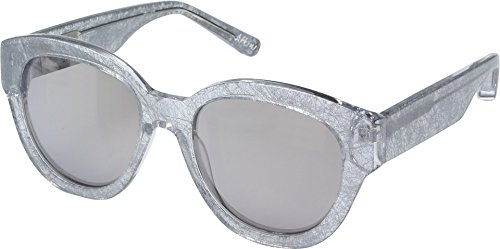Elizabeth and James Women's Atkins Ice Crystal/Smoke Flash Lens - And James Elizabeth Sunglasses