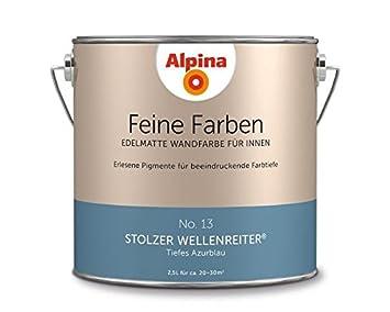 Charmant Alpina Feine Farben Stolzer Wellenreiter 2,5 LT   898599