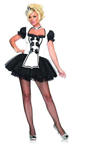 Mistress Maid Costume - X-Small - Dress Size -