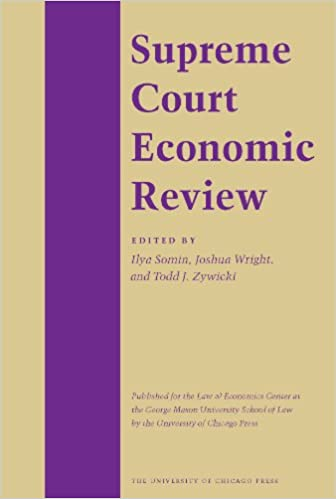 The Supreme Court Economic Review: v. 16