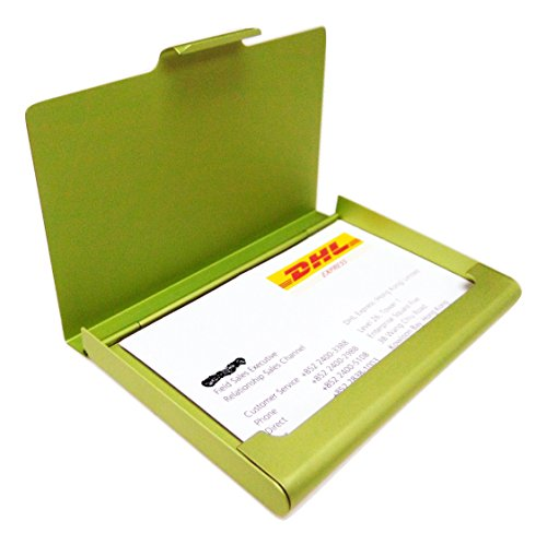 Green Aluminum Case (Business Name Card Holder Aluminum Case - Green)