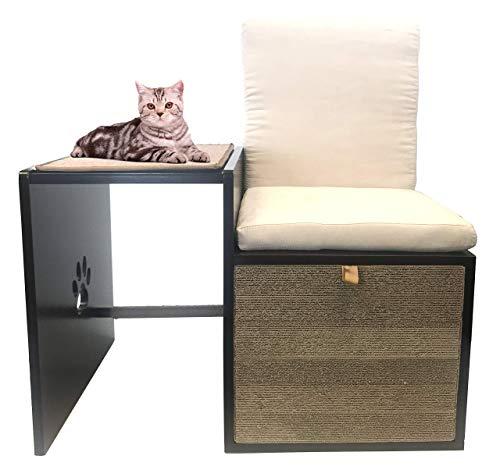 Penn-Plax Cat Walk Furniture: Love Seat Bench & Play Hide Cats
