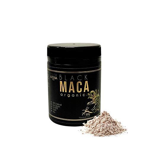 Maca Peruana Black (Preta) Maca, Color Andina Food, 1 pote de 100g
