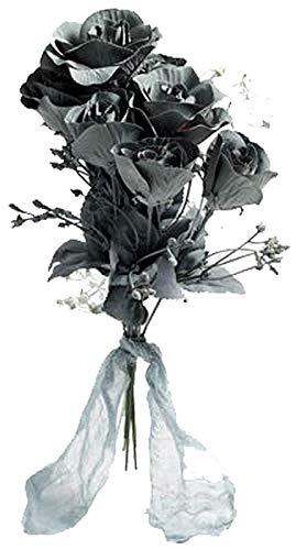 Forum Novelties 70761 Ghost Flower Boo-Quet, One Size, Standard, Gray, Pack of 1