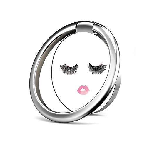 Phone Ring, Finger Ring Stand Ultra-Thin Swivel Ring Buckle Phone Grip Kickstand Cell Phone Stand for Universal Smartphone iPhoneX 8 Plus 7 7 Plus /6s 6 Plus/Galaxy S8 Plus - Fashion Fake Eyelashes