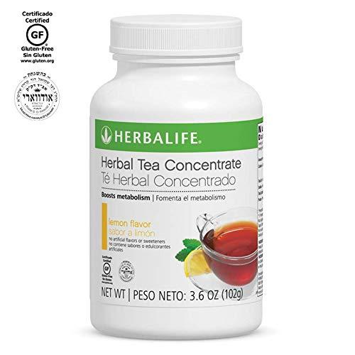Herbalife Herbal Tea Concentrate (Lemon, 3.6 OZ (102g)) by Herbalife Nutrition