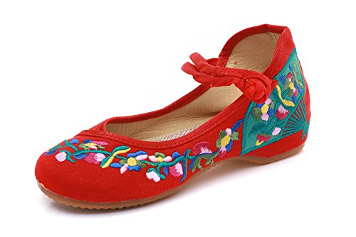 Lazutom Merceditas Woman Of For Red Canvas ffwqrd